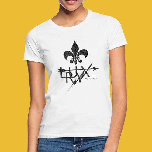 Luxry (Faded Black) - Women's T-Shirt