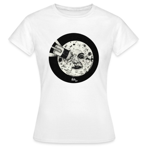 Viaje a la luna (Tributo a George Méliès) - Camiseta mujer