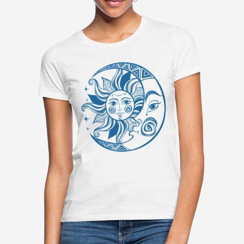 Sonnenmond Astrologie - Frauen T-Shirt