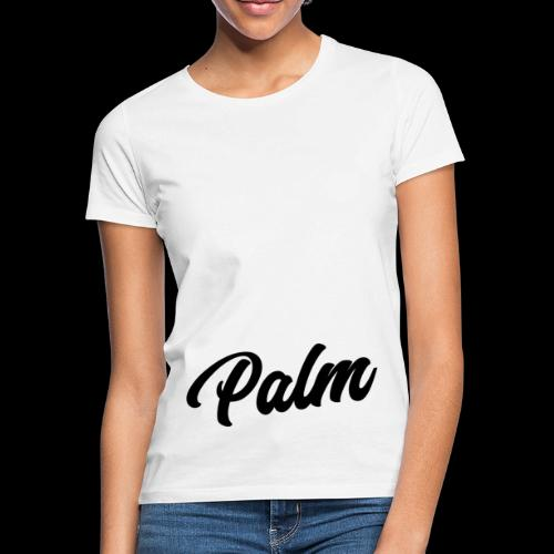 Palm Exclusive black - Dame-T-shirt