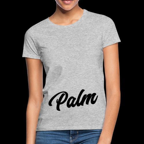 Palm Exclusive black - Dame-T-shirt