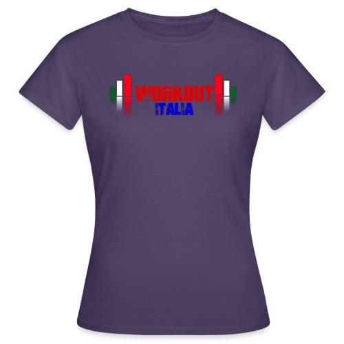 workout fondo chiaro - Maglietta da donna