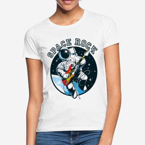 space astronaut rock - Frauen T-Shirt
