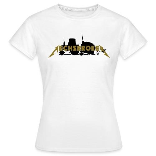 abbull2farb3 final - Frauen T-Shirt