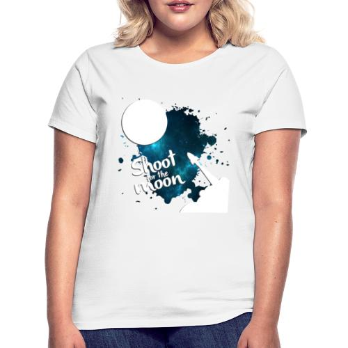 Shoot for the Moon Galaxy Edition - Women's T-Shirt