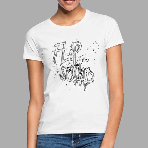 FlipSquad Vit Partiklar - T-shirt dam