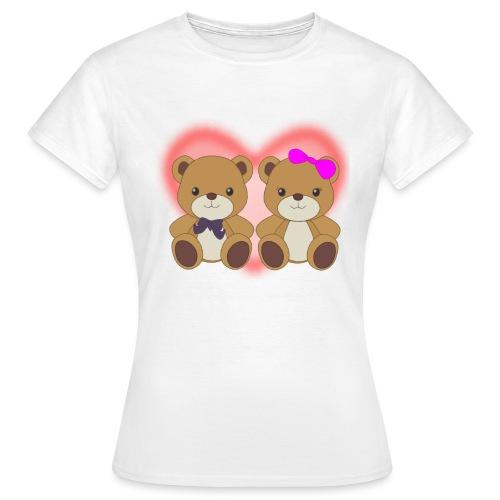 Orsetti con cuore - Maglietta da donna