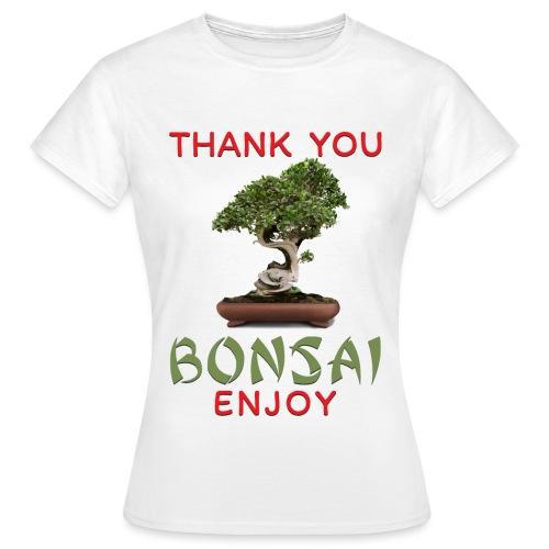 Dziękuję Ci Bonsai - Koszulka damska