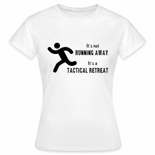 Tactical Retreat - Women's T-Shirt