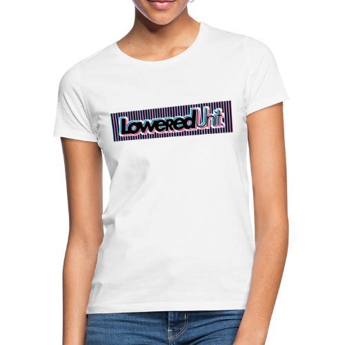 Dazzle Loweredunit - Frauen T-Shirt