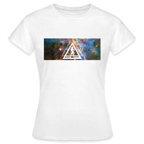 Gym Nebula Female png - Women's T-Shirt