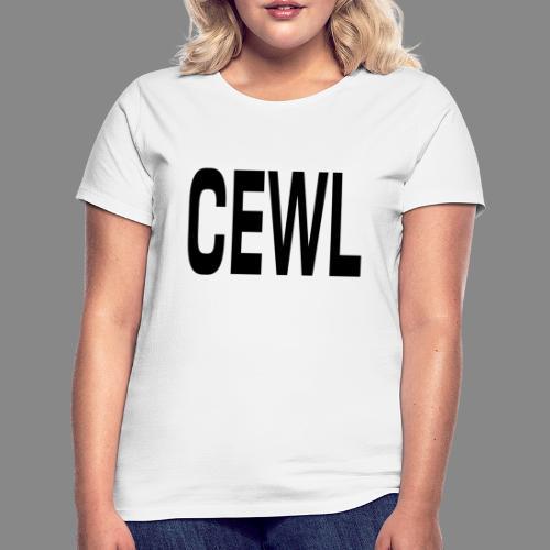 Cewl - Dame-T-shirt