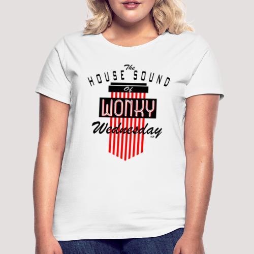 Red Wonky Wednesday Logo - Women's T-Shirt