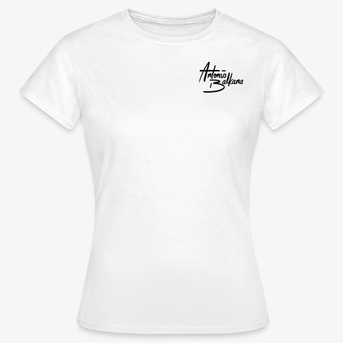 Antonio Balkana Logo (Black/Schwarz) - Frauen T-Shirt