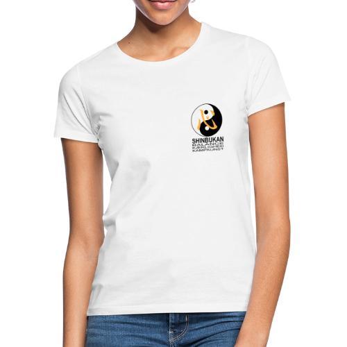 Shinbukan Tai Chi symbol og tegnet Kokoro - Dame-T-shirt