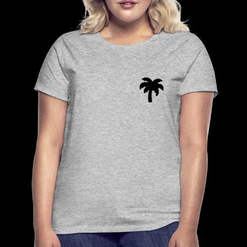 Palm Basic Black - Dame-T-shirt
