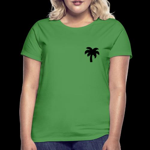 Palm Basic Black - Dame-T-shirt