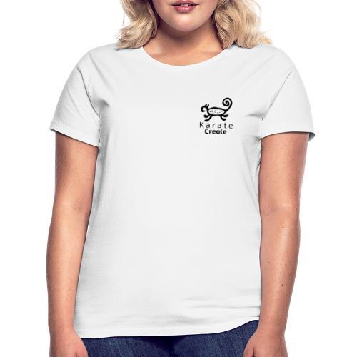 karate Creole con Letras - Camiseta mujer