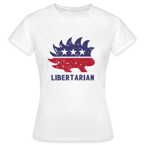 Libertarian porcupine - Koszulka damska
