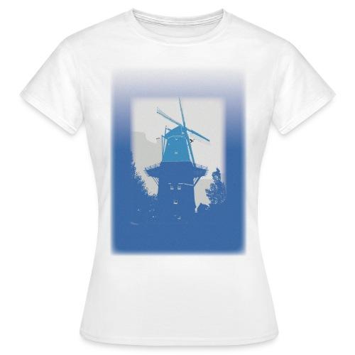 Mills blue - Koszulka damska