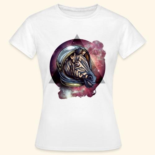 Space Zebra - Frauen T-Shirt