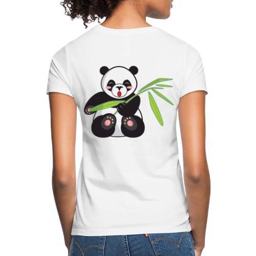 Panda x Levitation Noir - T-shirt Femme