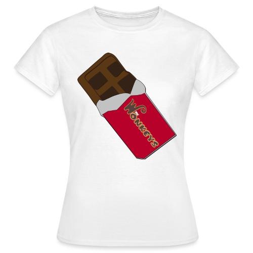 The Wonkeys Chocolate Edition - Maglietta da donna