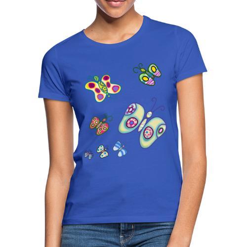 Allegria di farfalle - Maglietta da donna