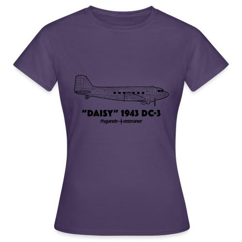 Daisy Blueprint Side 1 - T-shirt dam