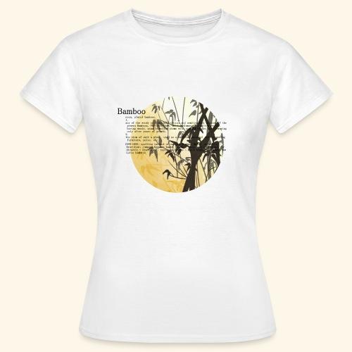 Bamboo - T-shirt dam
