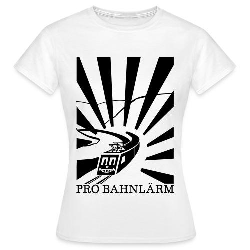 Pro Bahnlärm Rheintal - Frauen T-Shirt