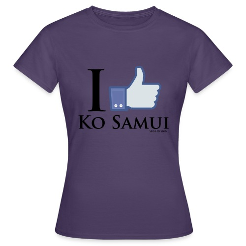 Like-Ko-Samui-Black - Frauen T-Shirt