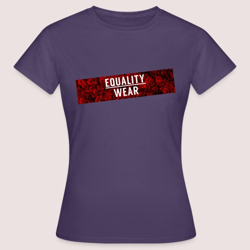 Equality Wear Long Rose Print Edition - Women's T-Shirt
