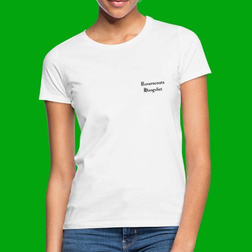 Rover logo en Tekst, Je kan zelf naam toevoegen - Vrouwen T-shirt