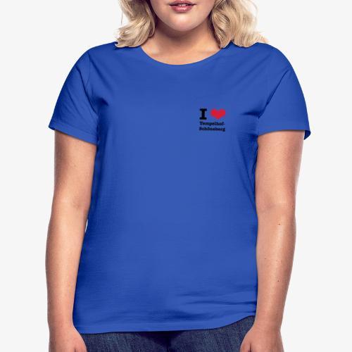 I love Tempelhof-Schöneberg - Frauen T-Shirt