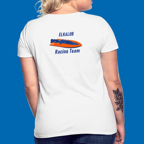 boot RacingT blau - Frauen T-Shirt