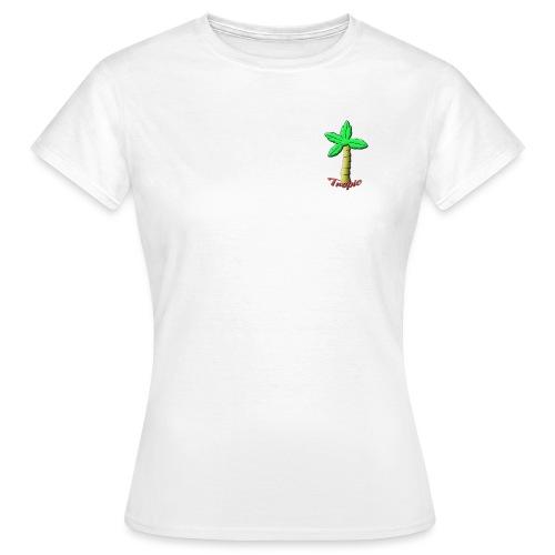 Tropic Palm - T-skjorte for kvinner