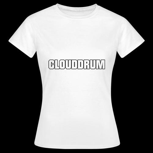 CLOUDDRUM - Vrouwen T-shirt