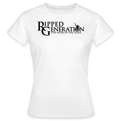 Ripped Generation Tekstilogo - Naisten t-paita