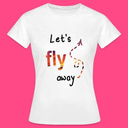 Flying - Frauen T-Shirt