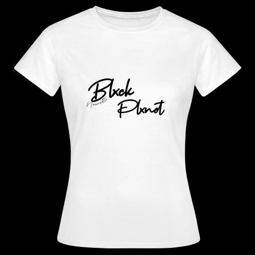 Blxck Plxnet B.version - T-shirt Femme
