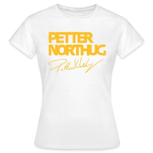 petternorthug - T-skjorte for kvinner