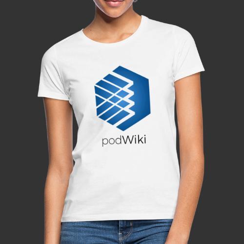 podWiki logo texte png - T-shirt Femme