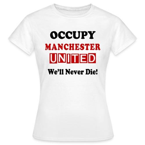 occupy epl man utd v2 - Women's T-Shirt