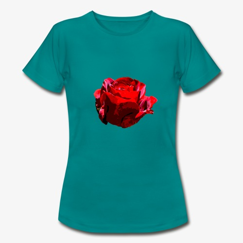 Red Rose - Frauen T-Shirt