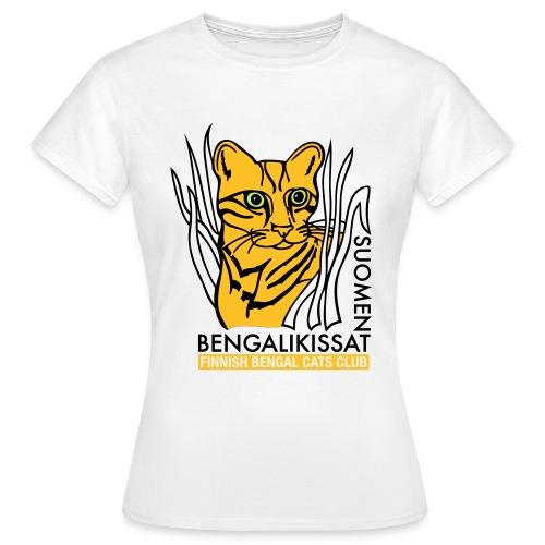 Bengalilogo valkoiselle - Naisten t-paita