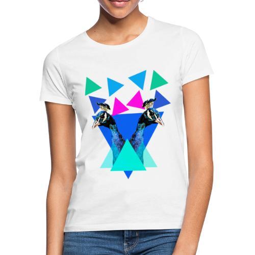 peacocks - Women's T-Shirt