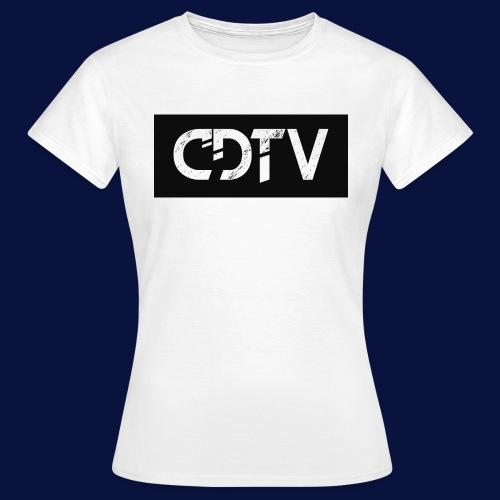 CDTV Box Logo - Women's T-Shirt