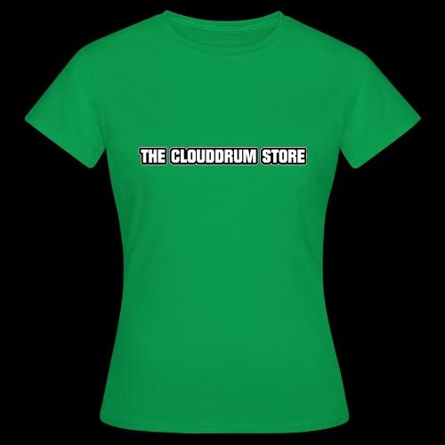 THE CLOUDDRUM STORE - Vrouwen T-shirt
