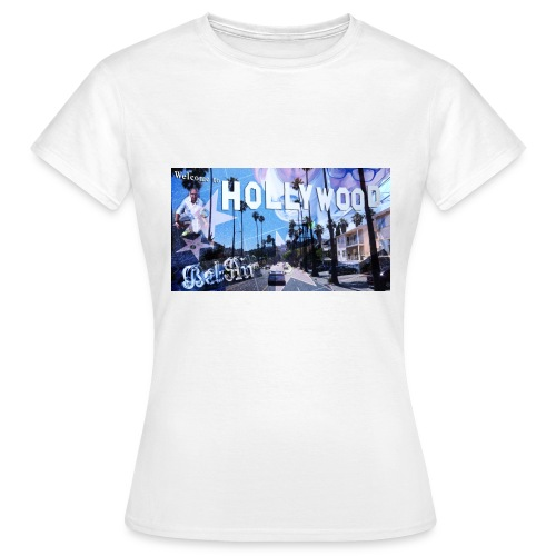 LA shirt jpg - Frauen T-Shirt